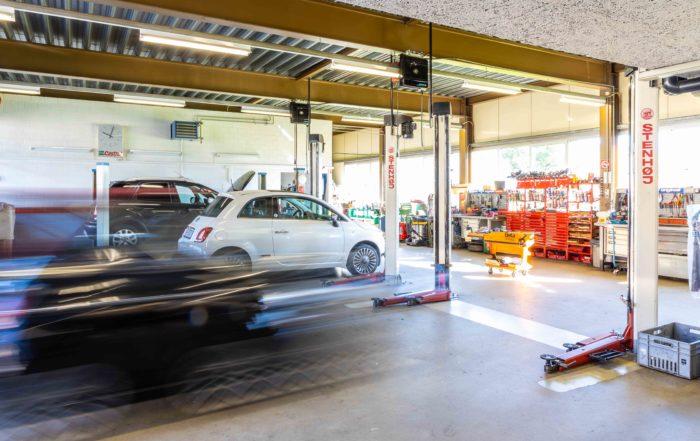 Sonnmatt-Garage Frei AG Werkstatt